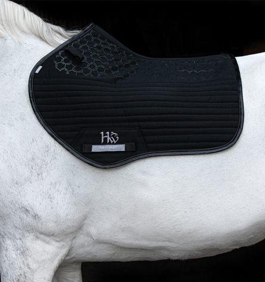 DPHP0Q-K000 Horseware Pro Sport Saddle Pad Black