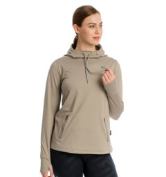 Technical Hooded Grey