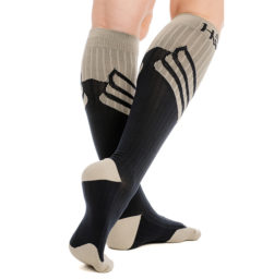 COHCTR-JMBO-Compression-sock-grey-navy-back