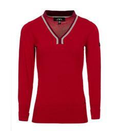 CZPVTA_RBLO_Vienna-sweater-oxblood-red-front